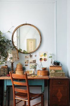 Work Space :: Studio :: Home Office :: Creative Place :: Bohemian Inspired :: Free your Wild :: See more Boho Style Design Decor Inspiration @untamedorganica