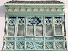 Moucharabieh en détail, Mahdia - Tunisie