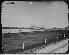 3. The Naval Academy in Annapolis photographed between 1860-1865.