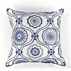 Mosaic Cotton Lumbar Pillow