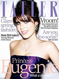 Throwback: In 2008, Princess Eugenia covered the April issue of the magazine