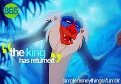 """Rafiki=""""friend"""" in Swahili Lion King Quotes, Lion King 3, Disney Lion King, Disney Dream, Disney Love, Disney Magic, Disney And Dreamworks, Disney Pixar, Walt Disney"""