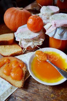 Джем из тыквы и мандаринов.