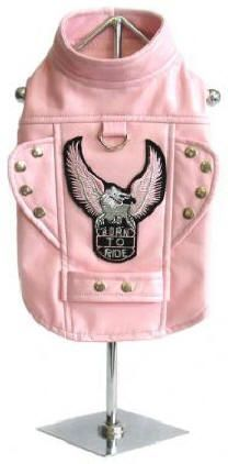 """Does your pooch like to feel the wind in his fur? Does he enjoy the open road? Then this cool """"Biker Dog"""" Born to Ride Motorcycle Harness Dog Jacket is just for him! The details will make your bad boy """"one of the gang""""!"""