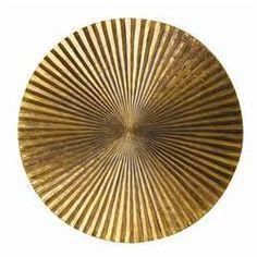 Apollo Large Plaque - Metallic Gold