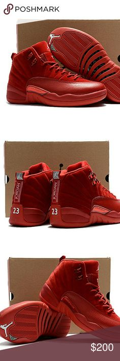 Men's Nike Air Jordan 12 Men's Nike Air Jordan 12 Air Jordan Shoes Sneakers