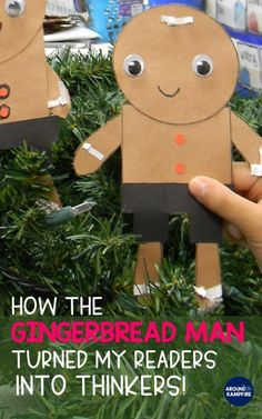 See how comparing favorite versions of The Gingerbread Man turned my readers into thinkers! Lots of fun ideas for comprehension lessons, gingerbread book activities and gingerbread man crafts in this post that are perfect for and grade kids. Reading Activities, Science Activities, Classroom Activities, Science Lessons, Science Projects, Classroom Ideas, Preschool Christmas, Christmas Activities, Winter Activities