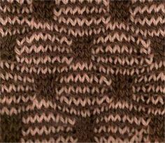 Wave and Box #knitting #stitch