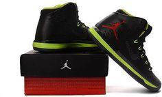 36676ab1658 Air Jordan XXX1 Mens Basketball shoes Black fluorescent green1 Cheap Retro  Jordans