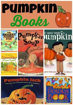 Some of my favorite pumpkin books