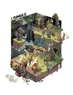 The Jungle by Stéphane Boutin