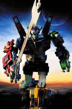 Voltron. Lion Voltron. The only Voltron. Deal with it. Art by Jeremy Roberts.