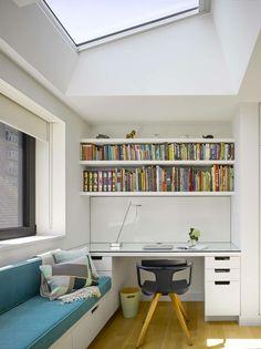 36 best built in desks images built in desk house floor plans rh pinterest com