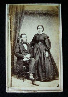 1860's Civil War Era CDV Photograph Revenue Tax Stamp Clayton Jeff Co NY | eBay