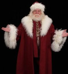 Victorian Saint Nick Santa Claus Hat Coat Vest by magicwardrobe