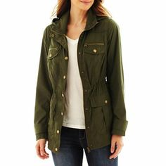 I love this anorak from JCP and I want it right now, please. Nancy Wheeler, Anorak Jacket, Perfect Wardrobe, St John's, Military Jacket, Style Inspiration, My Style, Coat, Pretty