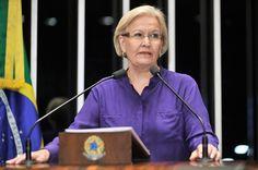 Imagem: Agência Senado    A senadora gaúcha Ana Amélia Lemos (PP-RS), 71 anos, ganhou notoriedade como uma das mais ativas vozes de oposiç...
