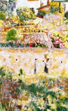 Grape Harvest / Pierre Bonnard - 1926