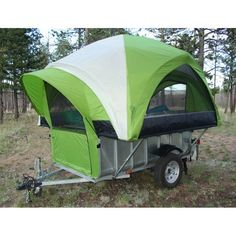 The TreeHaus camper setup for camping