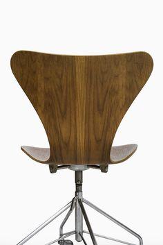 arne jacobsen office chair model 3117 in teak at studio schalling arne jacobsen office chair