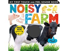 This Noisy Farm Touch and Feel Sound Book by Levy brings your little one's favorite farm animals to life with its realistic animal sounds. Toddler Books, Toddler Gifts, Childrens Books, Roald Dahl, Toddler Sense, Touch And Feel Book, Good Books, My Books, Farm Unit