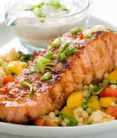 Salmon Recipes: Easy Broiled Salmon Recipe from Iron Chef Judy Joo - Shape Magazine