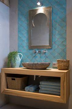 Wandtegels badkamer met Spaanse invloeden| VHS Tegeldomein | OBLY.com