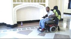Broken elevator forces man to sleep in lobby Disability News, Cerebral Palsy, Elevator, Baby Strollers, Brooklyn, Home Appliances, Sleep, Baby Prams, House Appliances
