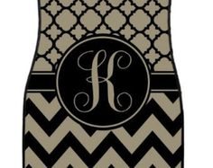 Car Mats Monogrammed Gifts Personalized Custom Car by ChicMonogram