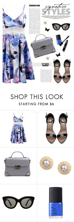 """Yoins 3"" by tamara-p ❤ liked on Polyvore featuring Victoria Beckham, NARS Cosmetics, yoins, yoinscollection and loveyoins"