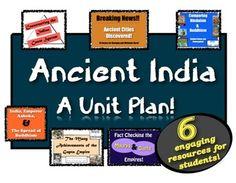 Ancient India:  A Unit Plan!