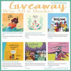 NubeOcho - A Children's Book Giveaway (10 Winners) Ends 3/7/16 #giveaway