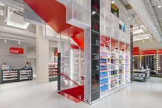 Migliore + Servetto Architects, Mondadori concept store, Milan, Italy
