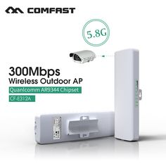 Wireless network bridge 300m transmission out door AP 5.8G frequency dual 14dBi antenna wireless CPE COMFAST CF-E312A