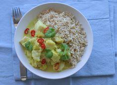 Marias Salt og Søtt: Fiskecurry(Fish curry)