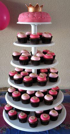 Prinsessen Cupcakes en Taart | A Cup of Cake