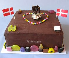 PynteKagen Candy Cake for my kids :)