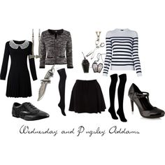"""""""Addams Family"""" by michelle-geiser on Polyvore"""