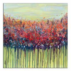 "Saatchi Art Artist Areti Ampi; Painting, ""Spring"" #art"