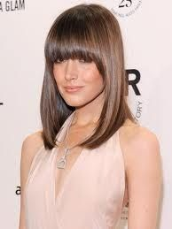 Hairstyles with fringe. Refresh your style now. Trendy bangs and fringe hairstyles are here in this page.