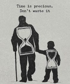 Positive Quotes : Time is precious dont waste it.