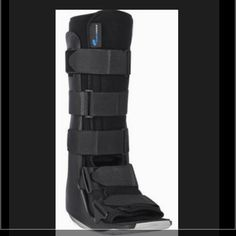 "Walking Boot (Medical) This ultra low profile Ovation walking boot with its intuitive, natural gait is like nothing else available providing higher maneuverability and stability. Combined with unique pre-contoured calf, malleolar and heel relief areas, no other walker comes close to your  predictable trauma needs.  A few steps and you will immediately ""feel"" the difference, after that you will settle for nothing less.  •	Ultra Low Profile Sole • Ultra Light Weight • Uniquely Sculpted Design…"
