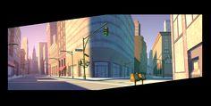 Stephen Nicodemus: DC Nation: Thunder and Lightning short bg art