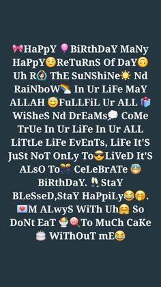 Beautiful Birthday Quotes, Happy Birthday Best Friend Quotes, Birthday Wishes For Brother, Birthday Girl Quotes, Happy Birthday Pictures, Best Birthday Wishes, Birthday Wishes Cards, Happy Birthday Messages, Birthday Text