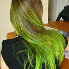 oye ana maria te quedo el pelo verde