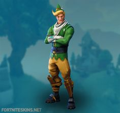 Codename ELF Outfit in Fortnite Battle Royale.
