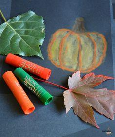 Kwik Stix Fall Art Ideas for Kids