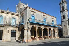 La Casa del Marqués de Aguas Claras, actual Restaurante El Patio en la #HabanaVieja