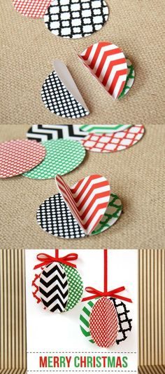 18 Incredible Ideas for Christmas card: 7. 3D Christmas Card Decorations - Diy & Crafts Ideas Magazine