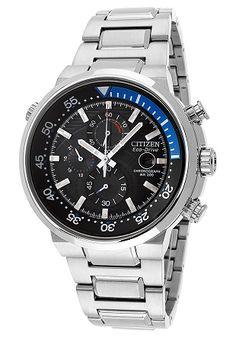 men watches: Top watches for men Citizen Men's CA0440-51E Eco-Drive Endeavor Chronograph Watch